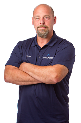 photo of terry hein, operations manager, mackinnon water solutions